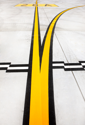Airport Runway Painting and Line Striping