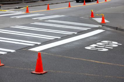 Highway and Road Striping Painting - Zimmerman Paint Contractors