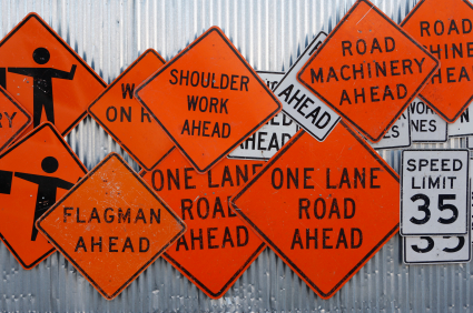 Construction Signs, Road Safety and Custom Signage